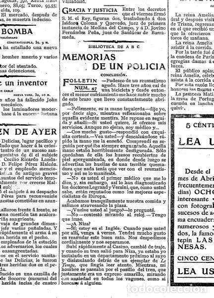 memorias de un policia - Comprar en todocoleccion - 181148263