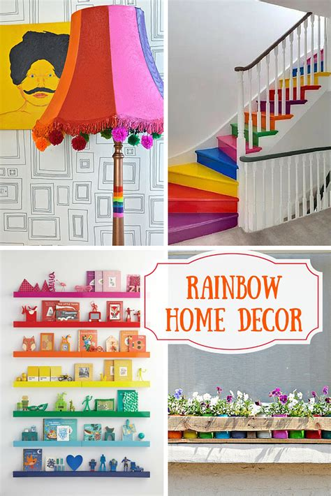 12 rainbow home decor ideas pillar box blue