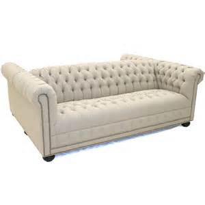 product detail linen tufted 2 sided sofa my home