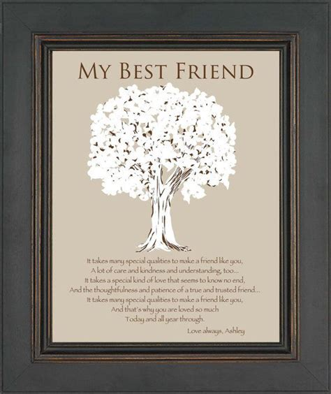 BEST FRIEND Gift Personalized Gift for a by