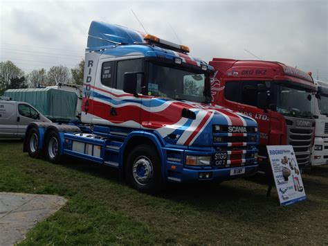 scania t cab union lorry at truck show news