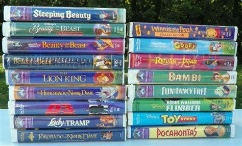 Kids Movie About A Toaster Disney Movies Vhs Tapes Lot Of 16 Classic Movies Ebay