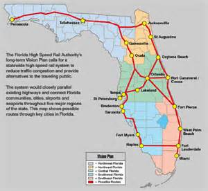 florida rail map florida high speed rail