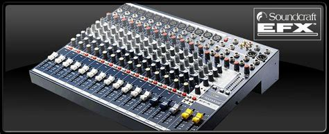 Mixer Soundcraft Efx 12 soundcraft efx12 苣i盻 t盻ュ h豌ng tr 224 vinh nh蘯 c c盻 tr 224