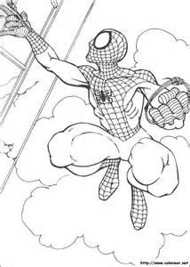 dibujos colorear spiderman