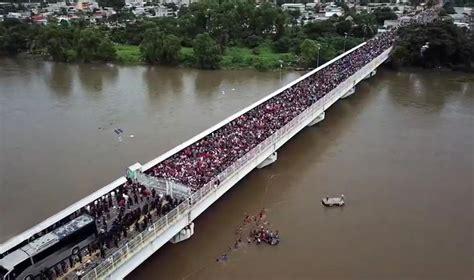 honduran refugee caravan honduran refugee caravan