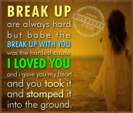 Love Quotes About Breaking Up by Break Up Quotes For Her Quotesgram