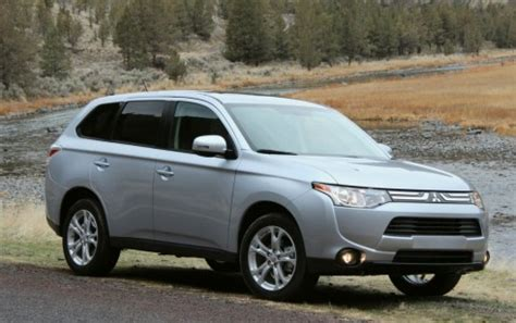 subaru outlander 2014 2014 mitsubishi outlander vs dodge journey honda cr v