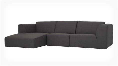 eq3 chaise morten 3 piece sectional sofa with chaise fabric eq3