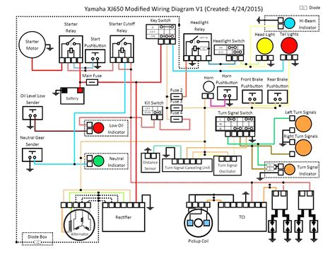 motorcycle electrical wiring diagram thread free