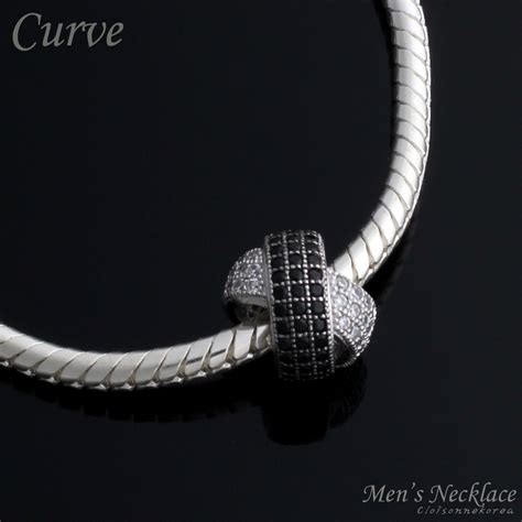 sterling silver charm necklace for curve 141