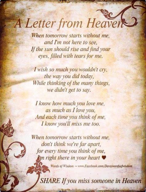 5 Letter Words Heaven touching poem dedicated to forever 5