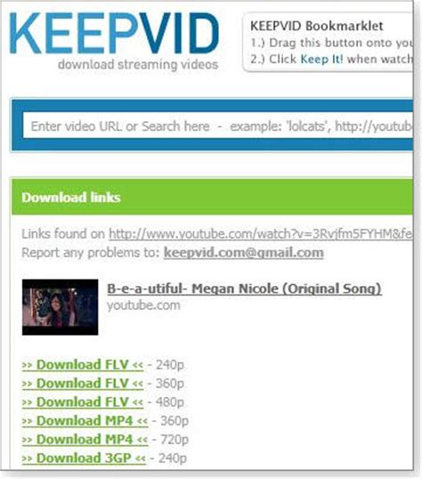 keepvid for mobile videodownloadx and save them on