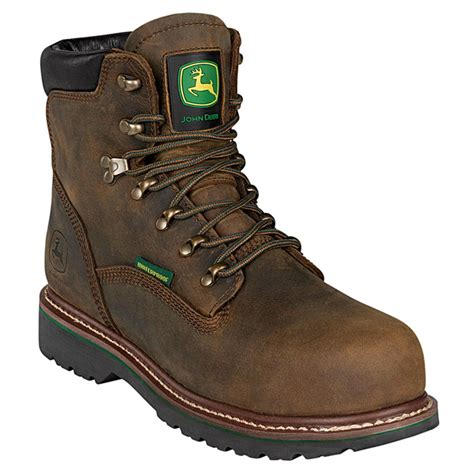 deere work boots for deere 174 6 quot ag utility wide load waterproof steel toe