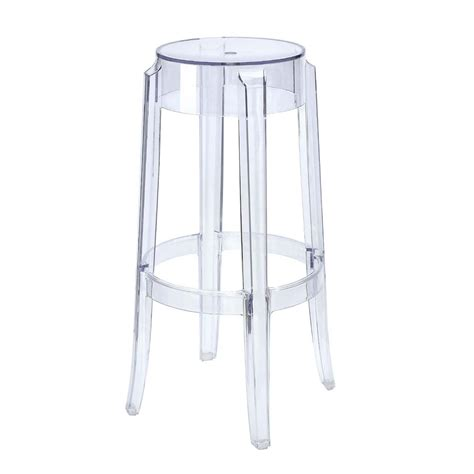 Clear Stool by Ghost Bar Stools Acrylic Bar Stools