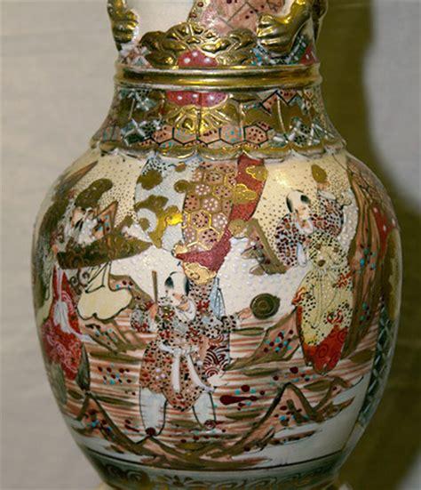 japanese satsuma large vases c 1890 for sale antiques
