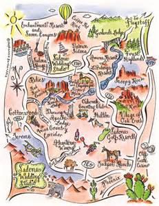 arizona landmarks map stephannie barba couture maps joins the sedona wedding