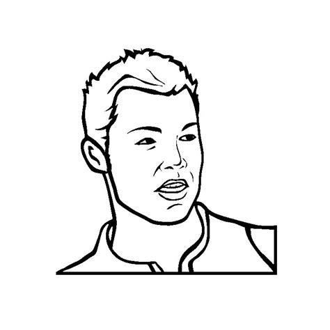 dessin de foot de ronaldo coloriage cristiano ronaldo a imprimer gratuit