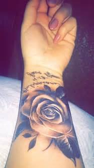 flower wrist tattoos flower tattoo on wrist 1000 ideas about rose wrist