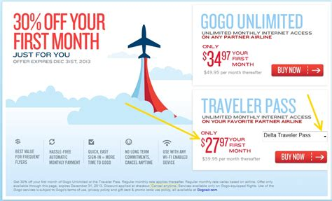 Delta Gift Card Discount - great year end discount for gogo on delta airlines delta points blog ren 233 s