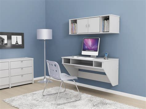 wall mounted desk for wall mounted desk with storage and hutches on blue