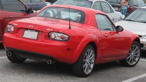 mazda roadster hardtop convertible
