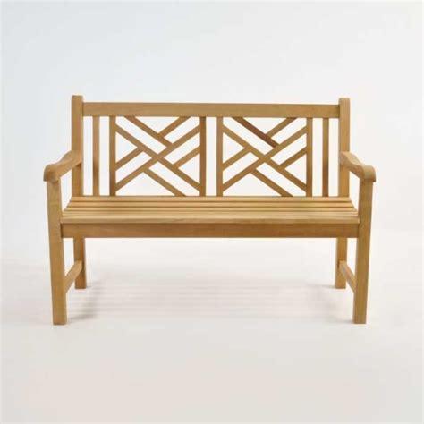 small front bench elizabeth teak garden bench 2 seat teak warehouse