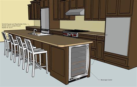 sketchup kitchen layout design kitchen using google sketchup home design