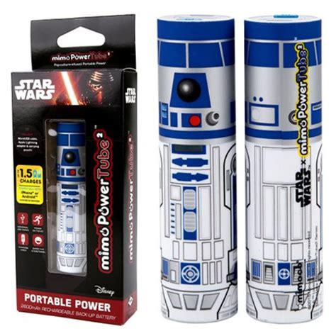 r2d2 phone charger wars r2 d2 mimopowertube 2 portable charger mimoco