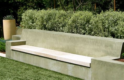garden concrete bench fresh with a touch of cozy the garden bench