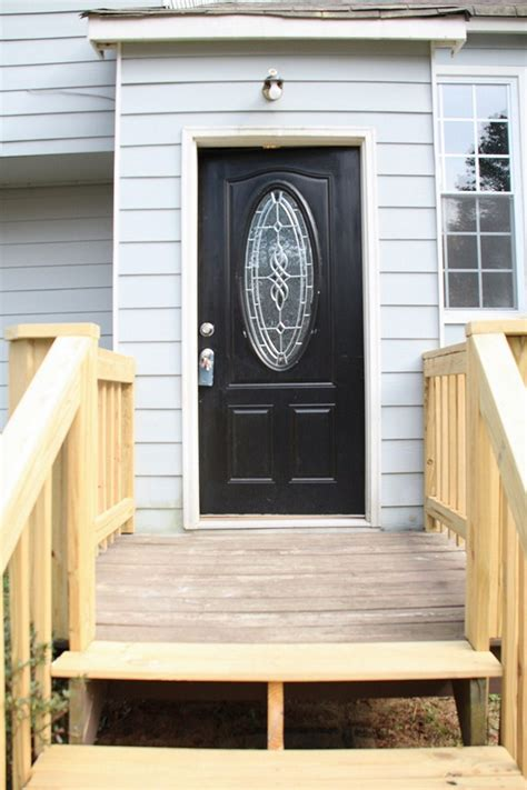 home black black front door for simple and attracting applications