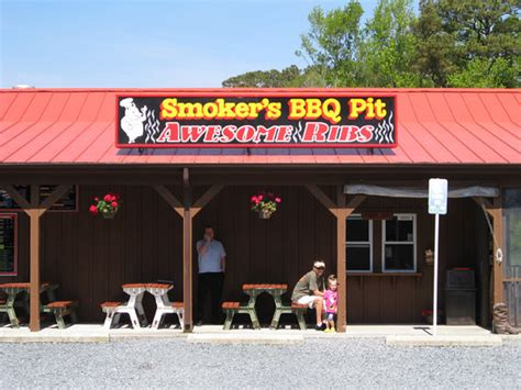 Smoker S Bbq Pit Ocean City Menu Prices Restaurant Pit Restaurant
