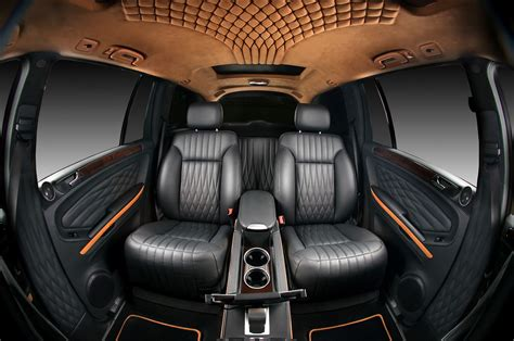custom car seat upholstery mercedes benz gl by vilner studio 2012 interior design