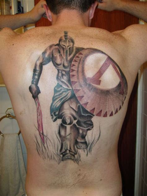 25 powerful shield tattoo designs