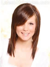 Bangs or fringe cute girls hairstyles front twist diy bangs or