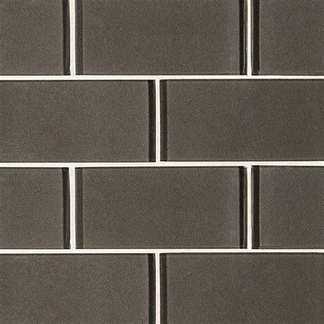 subway tile metallic gray subway tile 3x6