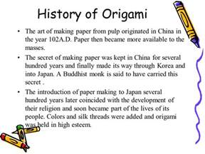 History Of Japanese Origami - dna origami dell olio hellwig travis ranch school
