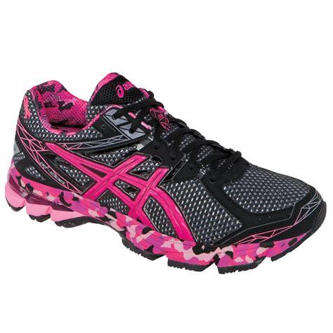 asics breast cancer running shoes asics gt 1000 3 pink ribbon running shoe s glenn