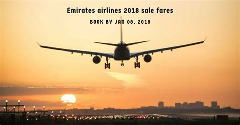 emirates deals 2018 sale fares by emirates airlines travelguzs deals