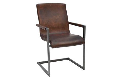 büffelleder stuhl freischwinger stuhl dunkelbraun bestseller shop f 252 r
