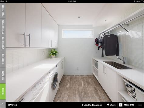 Galley Style Laundry Dreaming Homes Pinterest Stylish Laundry