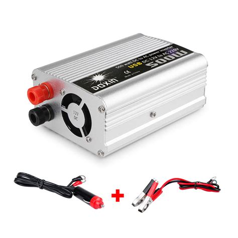Car Power Inverter Dc 12volts To Ac 220v 2000watt 500w car power inverter dc 12v to ac 220v usb voltage converter charger adapter ebay