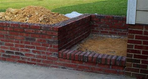 Brick Retaining Wall Garden Www Pixshark Com Images How To Build A Brick Retaining Wall Garden