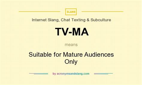 what does tv ma definition of tv ma tv ma stands