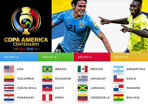 Calendario De La Copa America La Copa Am 233 Rica 2016 Se Podr 225 Seguir Por Movistar Conoce