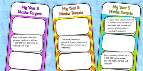 year 5 maths targeted 0008201714 2014 national curriculum year 5 maths target bookmarks numeracy ks2