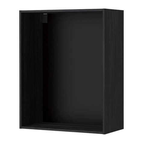 metod korpus wandschrank metod korpus wandschrank holzeffekt schwarz 80x37x100