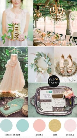 ruby wedding inspiration mint green teal and gold wedding mint shades of orange and teal autumn color inspiration