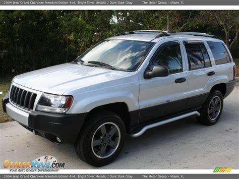 silver jeep grand 2004 bright silver metallic 2004 jeep grand freedom