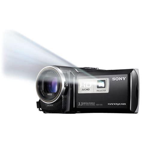 Handycam Sony Projector Pj10 sony hdr pj10 camcorder hdr pj10 b h photo